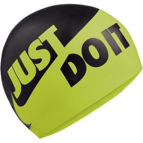 Nike Swim JDI Siliconen Badmuts, zwart/geel